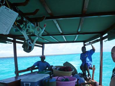 Tanzania Dive Boat