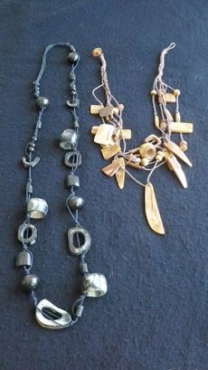 Reindeer bone necklaces