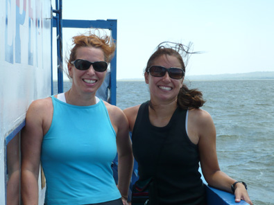 Me & Clara -- Having a blast!