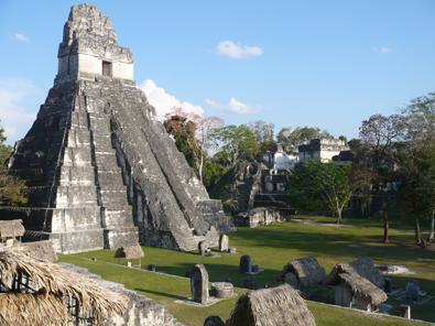Mayan Ruins in Tikal, Guatemala