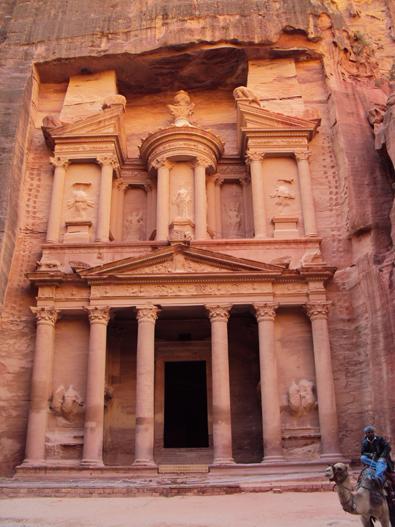 """Petra's famous  """"Treasury"""""""